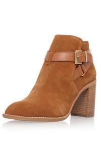 Tan High Heel Ankle Boots By KG Kurt Geiger: Tan €220,00