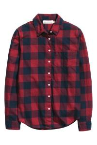 Cotton Shirt Red/Checked €19,99